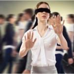 desorientiert blind Ziellos Konfusion Verwirrung Stress Burnout Ratlosigkeit Orientierungslosigkeit